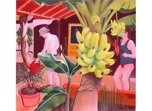 'The Orangerie' pastel work by Steven King