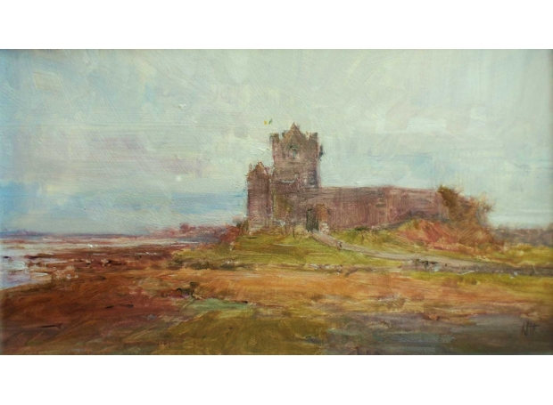 'Easter, Dunguire Castle' oil painting by Kenny McKendry