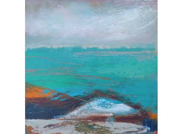 'A Turqoise Sea' by Lesley Birch