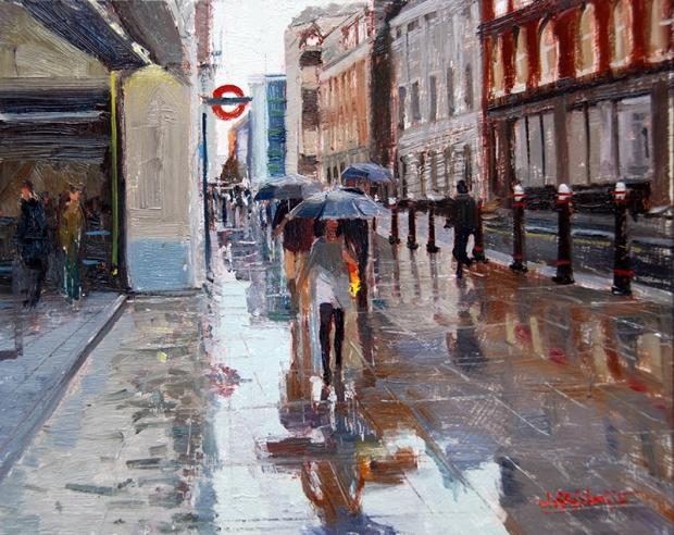 Alade-Adebanji-Rain and Reflections Cannon Street II.jpg