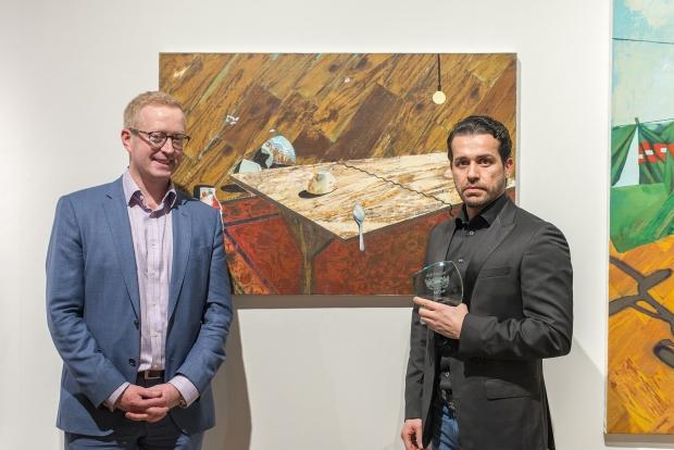 Mohammed Sami wins the Hottinger Prize