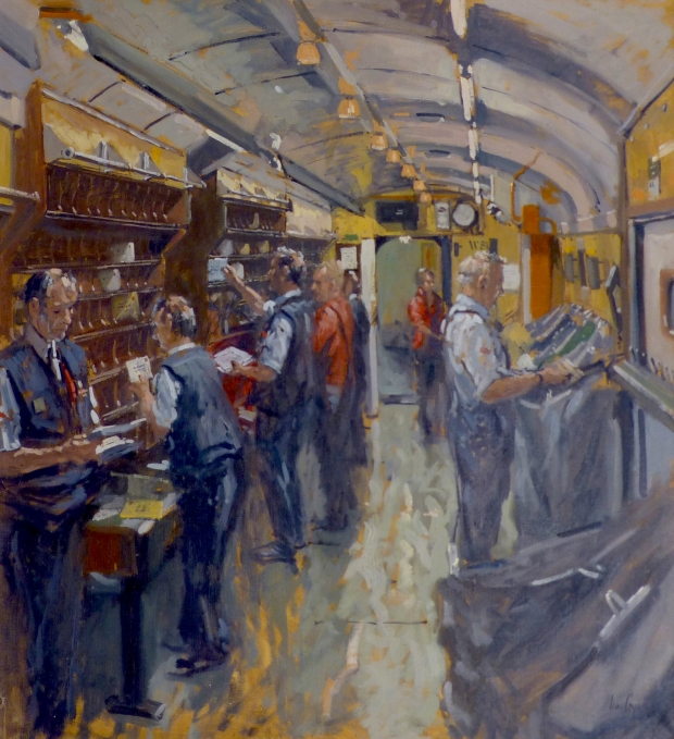 Ian Cryer, The Travelling Post Office