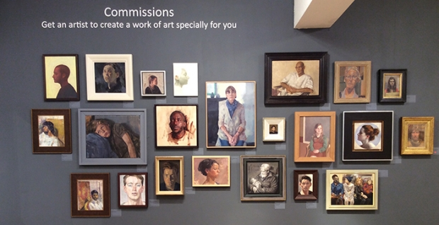 Mall Galleries Portrait Commissions Art Royal Society of Portrait Painters