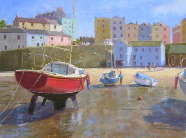 Allen-David-Tenby Harbour.