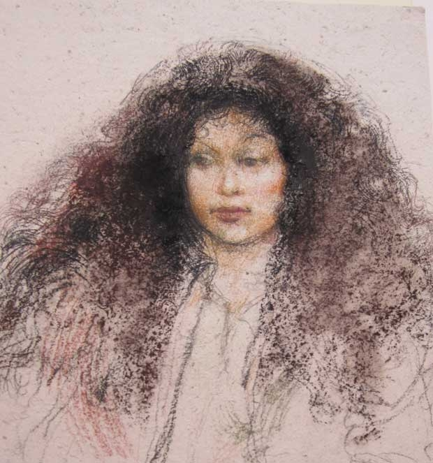 Victor Ambrus, Girl from South Sea Islands