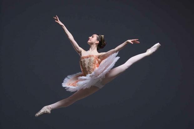 Ballet Central The Nutcracker, Sugar Plum Fairy Dancer Ayca Anil Photo by ASH Photography
