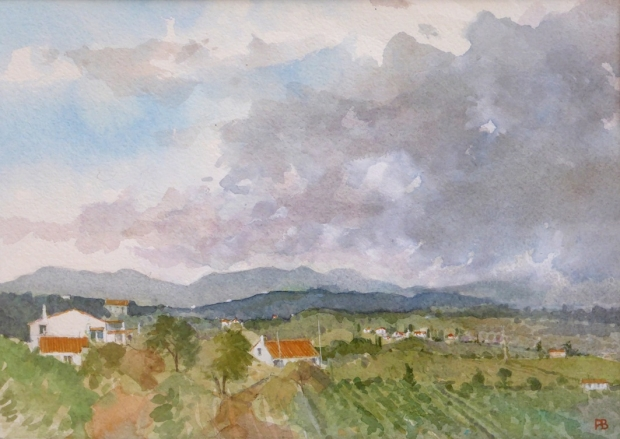 Banning-Paul-Approaching storm over the hills Portugal