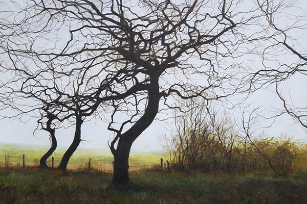 David Brammeld RBA PS Three Trees Mall Galleries Artist Demonstration
