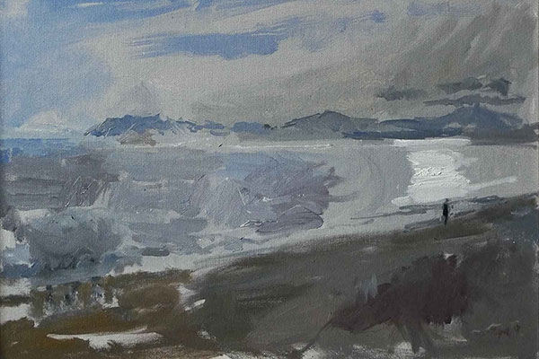 Daniel Shadbolt Winter Sun Mall Galleries Events and Workshops