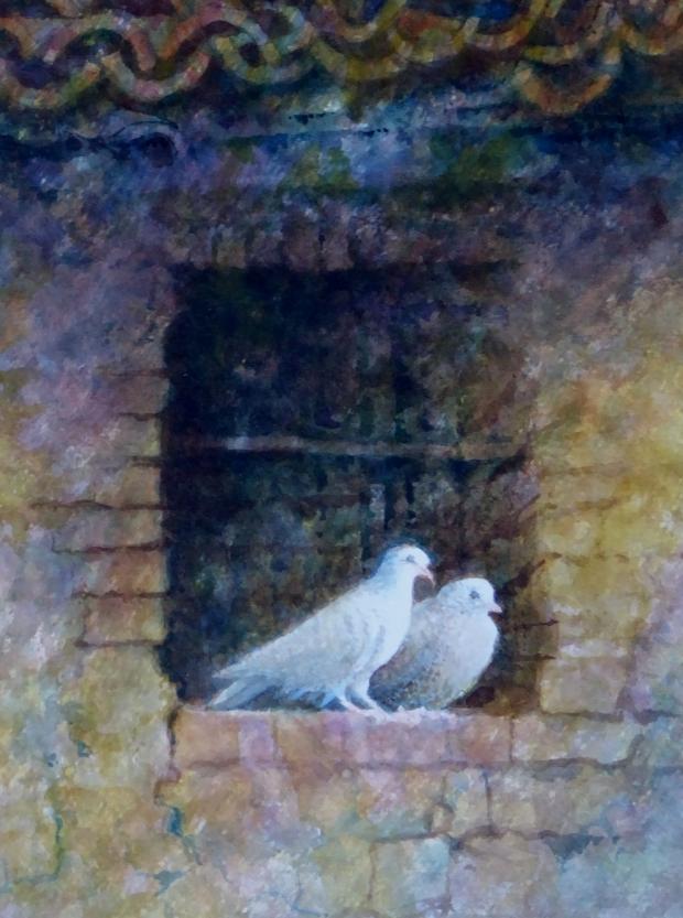 Fazakerley-Pauline-Love Birds in Tuscany.jpg