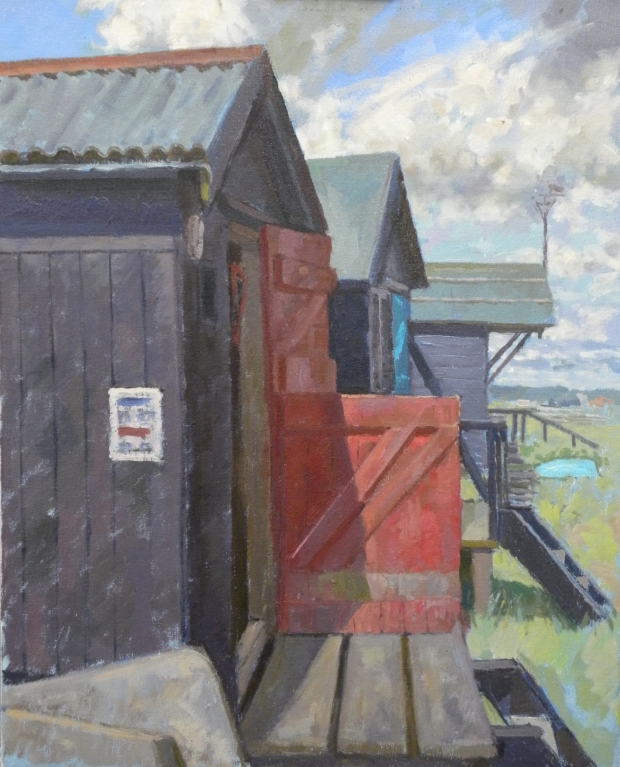 Rba lunchtime demonstration portrait painting mall for 6 the terrace walberswick