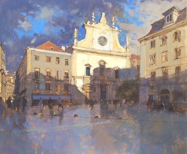 Sawyer-David-Evening Shadows. The Church of San Domingos, Lisbon.jpg