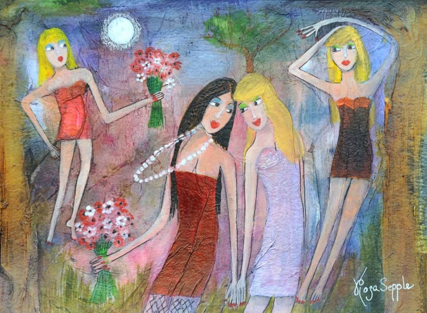 Sepple-Rosa-All-Girls-Together,--28x20cms.jpg