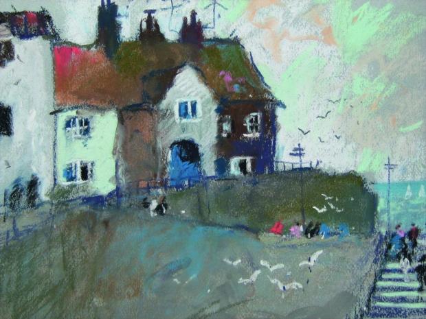 John Tookey, The Town Steps, Sheringham