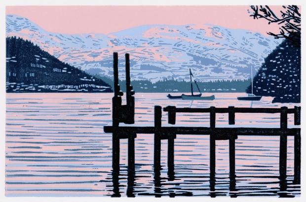 Ramskill. G, Winter Sunset on Lake Windermere.jpg