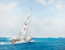 'The Great Britain Clipper' by Jenny Morgan RSMA