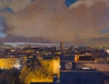 Peter McGrath, Evening Light - Redland (detail)