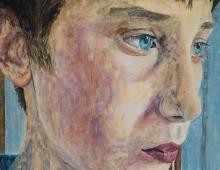 George King, Self Portrait