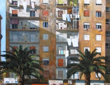 Ian Hargreaves, High Rise – Naples (detail)