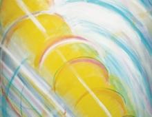 June Hainault, Colour Vortex (detail)