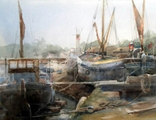 John Killens, Maldon, Still Morning (detail)
