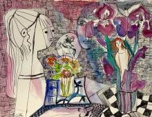 Lydia Corbett, Sylvette the Dream of my Life (detail)