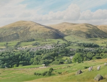 Roger Allen, Sedbergh and the Howgills (detail)