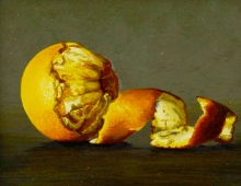 Laura Critchlow, Orange Still Life (detail)