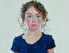 Simon Davis RP, Sophia - Mall Galleries Royal Society of Portrait Painters