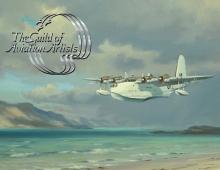 Denis Pannett FGAvA, End of a Long Flight (detail)