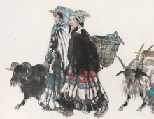 Yi People on Their Way to the Market sq.jpg