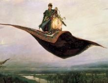 Victor Vasnetsov, The Flying Carpet, 1880