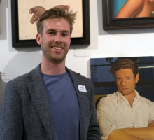1.Henry Bryne at Royal Soc Portrait Painters Annual Exhibtion