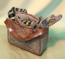 Jill Moger SWLA - Crocodile Bag