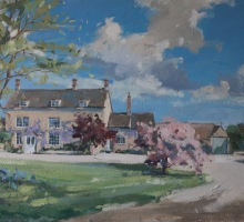 Mill Farm by Graham Webber ROI House portrait Commissions