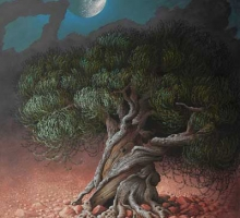 'Olive Tree and Moon' by Miriam Escofet