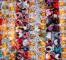 'Praying with Food' by Noor Ahmed Gelal (Bangladesh)