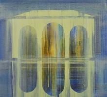 'Alcazaba' acrylic painting by Martin Goold