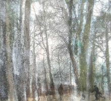 5.Walk-in-the-Park.Mixed-media-and-monotype.Image-52x29cm-Framed-77x57cm.£695.jpg