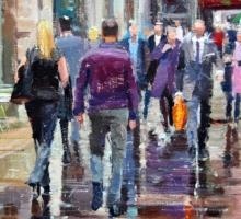 Adebanji Alade, Colours, Rain and Reflections (detail)