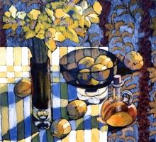 Ann Wilkinson ' Still Life with Daffodils