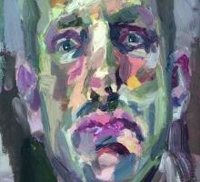 Benson-Tim-Self Portrait by Lamplight