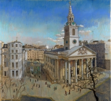 St Martins in the Fields by Toby Ward Church Art Commission