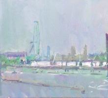 Paul Gildea NEAC, Waterloo Bridge
