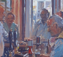 Ian Cryer, Keynsham Conservative Club (detail)