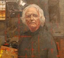 Ken Howard, Self Portrait