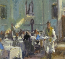 Roger Dellar, The Pump Room, Bath (detail)