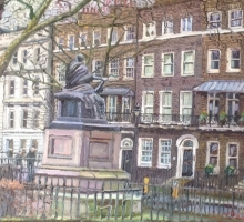 Melissa Scott-Miller NEAC RP, Bloomsbury Square with Cordelia