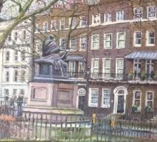 Melissa Scott-Miller NEAC RP, Bloomsbury Square with Cordelia