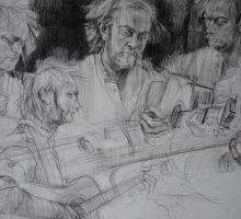 Susan Relph - Multiple Studies Drew Hamilton Black